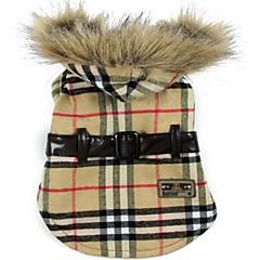 estilo europeo capa caliente para los animales domésticos (colores surtidos, tamaños)
