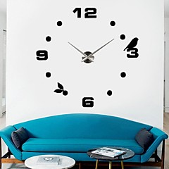 "39 ""diy del reloj w pared 3d etiqueta"
