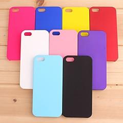 pajiatu 애플 아이폰에 대한 휴대 전화 하드 PC의 뒷면 커버 케이스 쉘 5 / 5S (모듬 색상)