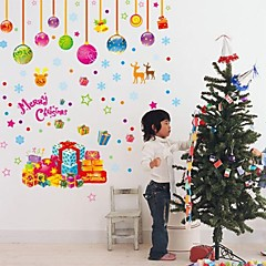 Christmas Gifts PVC Wall&Window Stickers
