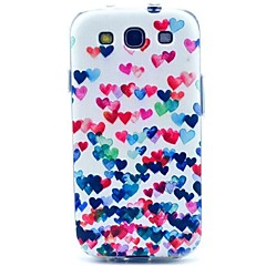 Love Pattern TPU Soft Cover for Samsung Galaxy S3 I9300