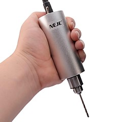 ドリルビットがセットされたneje DIYステンレス鋼マイクロ電気ハンドドリル