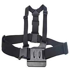 HTL-308 Front Chest Elastic Belt Shoulder Strap for Gopro Hero 4, 3+, 3 HD, AEE SD20, SD21, SJ4000