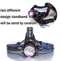 LT-00701  Adjustable 3Mode  CreeXM-L  U2  djustable Headlight Headlamp (2500LM.2X18650.Black)