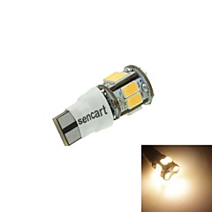 T10 LED 2-Mode Warm White 5W 11X5630SMD 550LM 3000K  for Car Signal Light (DC12-16V)