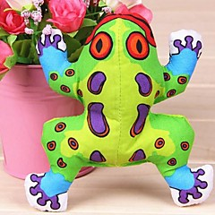 Dog Toy Pet Toys Chew Toy Squeaking Toy Squeak / Squeaking Frog Textile