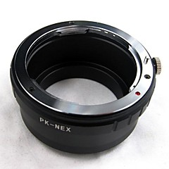 Pentax K Mount PK Lens to Sony NEX-3 NEX-5 NEX E Mount Camera lens adapter ring PK-NEX