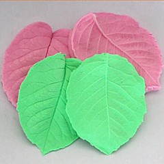 3D Leaf Clamping Fondant Cake Silicone Mold Cake Decoration Tools,L8cm*W6.5cm*H1cm