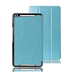 timide ours ™ 8 pouces cas stand de couverture en cuir pour pad asus mémo 8 me581c tablette couleur assortie