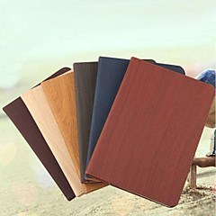 High Quality Pure Color Wood Grain Pattern Holster for iPad Air 2(Assorted Color)