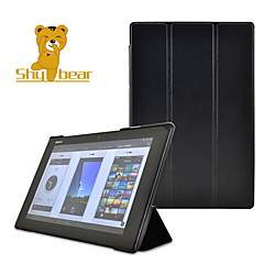 nieśmiały stylu niedźwiedź ™ Smart szalony koń stanąć skórzaną okładkę twardą skorupę sprawę do Sony Xperia z2 10.1 calowy tablet