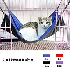 invierno cómodo y verano dos lados con hamaca funcional para mascotas perros (colores surtidos y tamaños)