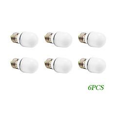 4W E26/E27 LED Globe Bulbs 16 SMD 5730 280 lm Warm White / Cool White AC 220-240 / AC 110-130 V 6 pcs