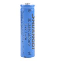 3800mAh 18650 bateria de iões de lítio recarregável shuangdi® 3.7v sd (1pcs)