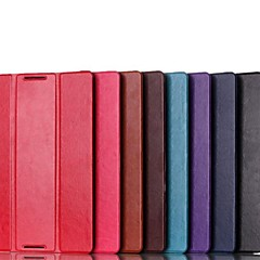 Solid Color High Quality PU Leather Folding Full Body Case for Lenovo A7600 A10-70 (Assorted Colors)