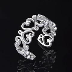 Ringen Bruiloft / Feest / Dagelijks / Causaal Sieraden Verzilverd Dames Midiringen 1 stuks,Verstelbaar