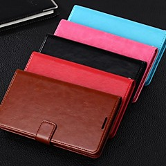 Dengpin PU Leather Wallet Style Stand Phone Case Cover with Card Slot for Samsung Galaxy Note 2 N7100(Assorted Colors)