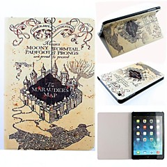 Marauder's Map Harry Potter Movie Series Pattern PU Leather Full Body Case with Stand for iPad mini/mini 2