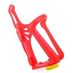 fjqxz pc rødt justerbar cykling vandflaske bur
