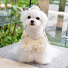 Todas las Estaciones - Blanco / Dorado Plástico - Collares - Perros