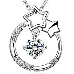 925 Sterling Silver Wishing Stars Have Your Heart Pendant
