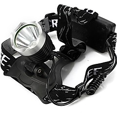 LT-952984 3Mode CREE XM-L T6 LED Headlamp(1600LM.2X18650.Black)
