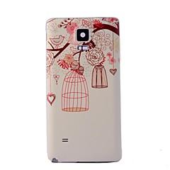 Mert Samsung Galaxy Note Minta Case Hátlap Case Fa PC Samsung Note 4