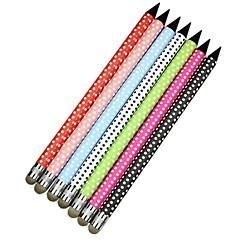 puntos de colores simples pantalla universales stylus pen