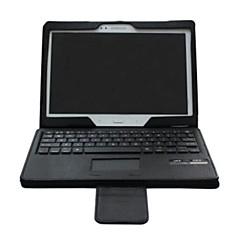 PU-lederner Kasten-Bluetooth-Tastatur mit Standplatzhalter für Samsung tab.s 10,5 寸 t800 (schwarz)