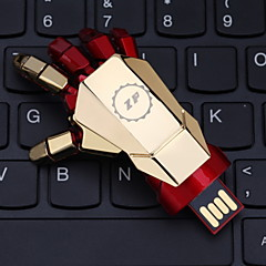 zp 32gb de hand patroon metalen stijl usb flash pen drive