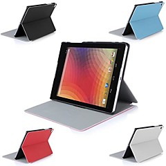 """Many Angle Leather Stand Case Flip Cover for 8.9"""" Google Nexus 9 Tablet"""