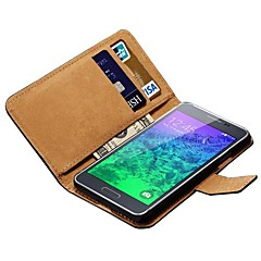 Genuine Leather Case for Samsung Galaxy Alpha G850 G850F