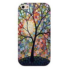 Dot Tree Pattern Back Case for iPhone 4/4S