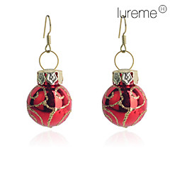 Earring Drop Earrings Jewelry Women Party / Daily Copper Gold / Red