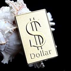 usb Rifen en métal doré de charge allume-cigare signe -dollar