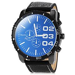 שעון חיוג סיבוב פרק כף יד קוורץ להקת pu של גברים (צבעים שונים)