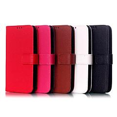 Mert Motorola tok Pénztárca / Kártyatartó / Állvánnyal / Flip Case Teljes védelem Case Mértani formák Kemény Műbőr Motorola