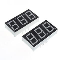compatible (pour Arduino) 3 chiffres à 12 broches du module d'affichage -. 0.56in (x2)