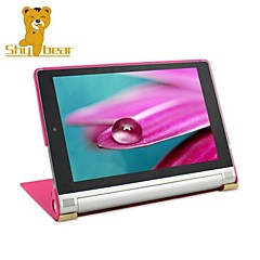 """Shy Bear™ Leather Cover Stand Case for Lenovo Yoga 2 8 830 830F 8"""" Tablet"""