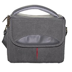 Dengpin® Shoulder Messenger Camera Canvas Case Bag for Canon EOS M2 1000D 1200D 100D 400D 550D 600D 700D 30D 50D 70D 7D