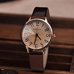 Women's Watch Vintage Big Numbers Quartz PU Band(Assorted Colors) Cool Watches Unique Watches Fashion Watch