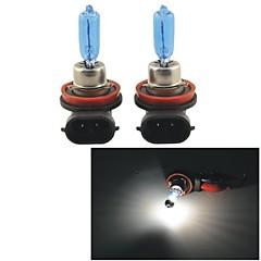H9 100W 5000K 1100LM Ultra Warm White Halogen Headlight Bulbs (12V / Pair)