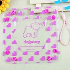 agua pliegue dogstory cuencos pequeños para mascotas (colores surtidos)