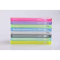 Transparent Hard PC Cover Case for iPhone 5/5C/5S(Assorted Colors)