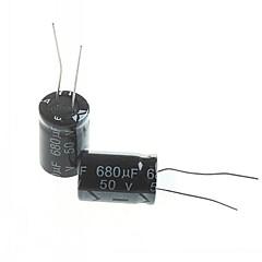 Electrolytic Capacitor 680UF 50V (10pcs)