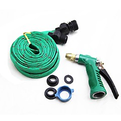 LEBOSH®Car Wash Water Cannon Thicken The Pipe Explosion-Proof Hose Random Color 15M