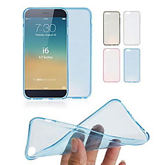 DF 0.3 mm Ultrathin Transparent TPU Soft Case for iPhone 6(Assorted Colors)