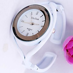 Women's Round Dial Diamond Alloy Band Quartz Bracelet Watch (Assorted Colors) Cool Watches Unique Watches Fashion Watch