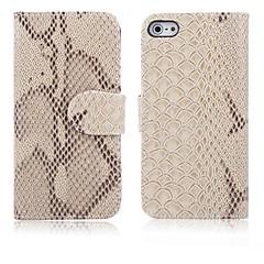 ormskinn korn läderfodral för iPhone 4 / 4S