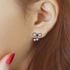 Earring Stud Earrings Jewelry Women Party / Daily / Casual Alloy